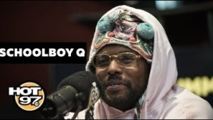 "Schoolboy Q Talks Nipsey Hussle, ""crash Talk"" & More On Ebro In The Morning"